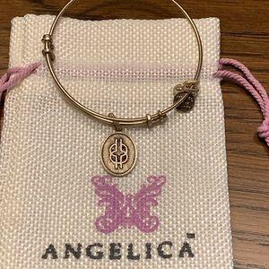 Angelica  Wisdom Knot charm bracelet